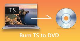 TS إلى DVD
