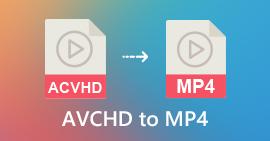 AVCHD til MP4