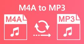 M4A ל- MP3