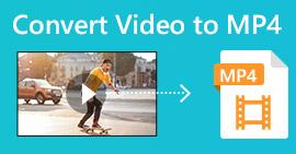 Конвертировать видео в MP4
