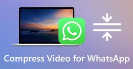 Komprimer video for whatsapp