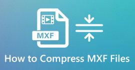 Komprimer MXF