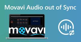 Movavi Audio ute av synkronisering