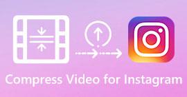 Komprimer video for Instagram