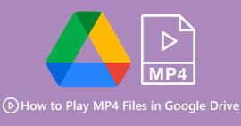 Odtwórz MP4 na Dysku Google