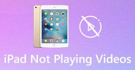 iPad nie odtwarza filmów