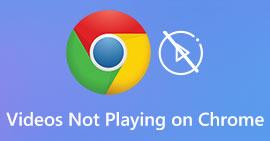 Filmy nie odtwarzają się w Chrome