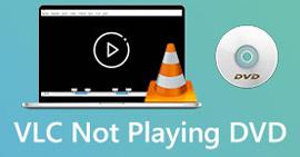 VLC spiller ikke DVD