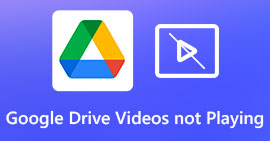 Google Drive Videos Not Playing