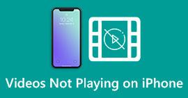 Filmy nie są odtwarzane na iPhonie
