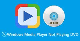 Windows Media Player spiller ikke DVDer