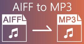 AIFF ל- MP3