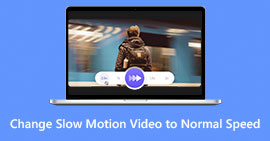Change Slow Motion Video To Normal Speed