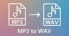 MP3 ל- WAV