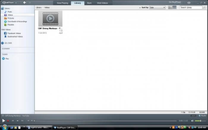 Realplayer Library