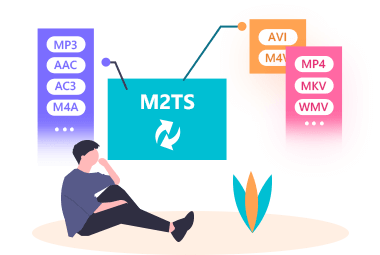 M2TS to Various Formats