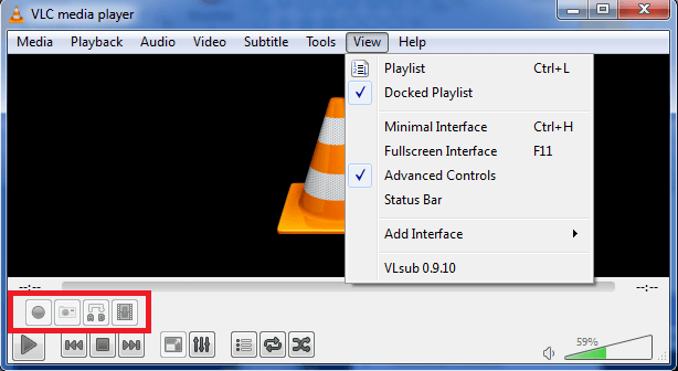 VLC Player Advanced Controls