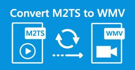 Convert M2TS to WMV