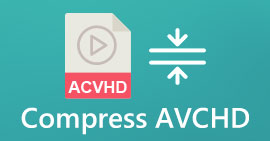 Compress AVCHD