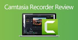 Camtasia 스크린 레코더 검토